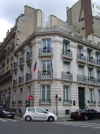 Embassy of the Republic of Slovenia Paris 2012