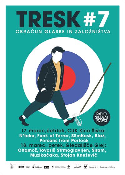 TRESK Festival 2016 poster Fejzo Kosir
