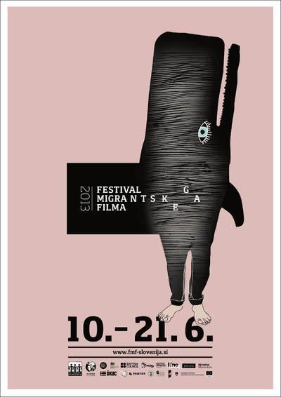 Martina Kokovnik Hakl and Drago Mlakar 2013 Migrant Film Festival poster 03