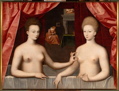 Gabrielle d'Estrées et une de ses soeurs