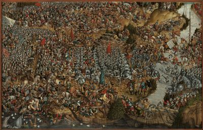 Battle of Orsha on 8 September 1514