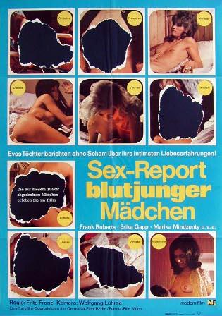 Filmplakat von Sex-Report blutjunger Mädchen (1971/72)