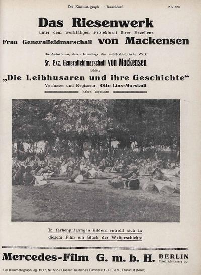 Die Leibhusaren und ihre Geschichte.