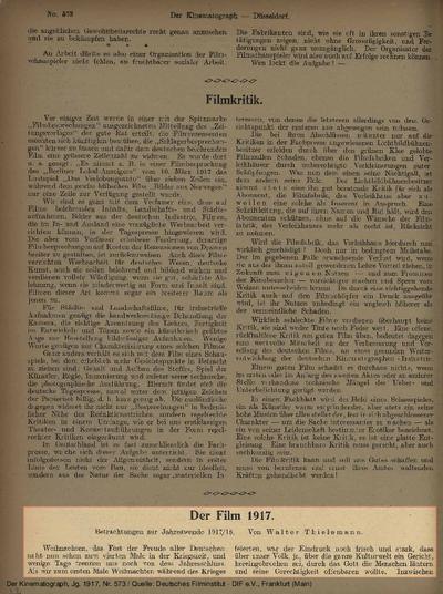 Der Film 1917.