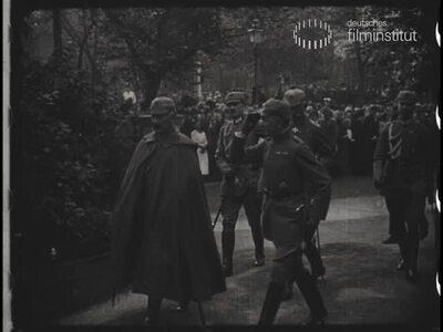 Hindenburgs 70. Geburtstag im Großen Hauptquartier