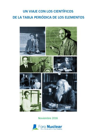 Un Viaje con los científicos de la tabla periódica de los elementos