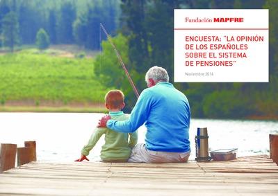 Encuesta : estudio opinión de los españoles sobre el sistema de pensiones