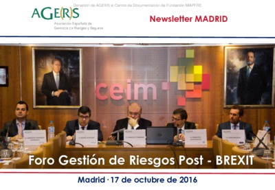 Foro Gestión de Riesgos Post-BREXIT [Newsletter Madrid]