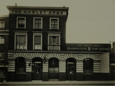 Hawley Arms, Chalk Farm