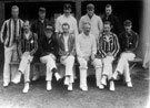 North Devon Cricket Club 1902. (For full names and positions see card)