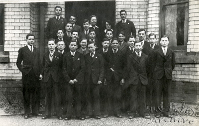 National Childrens Home, Newton.  Working Boys in Sunday Best