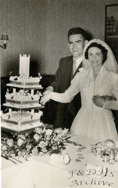National Childrens Home, Newton. Ken Mc Cormick and Bride
