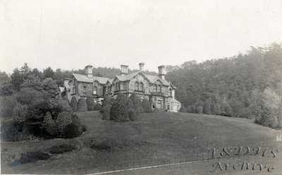 Foxhill Mansion, Tarvin Road, Frodsham.  25th. September 1904