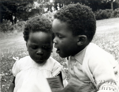National Childrens Home, Newton. Brother and sister