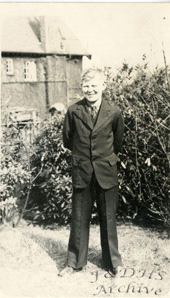 National Childrens Home, Newton. Unknown Boy