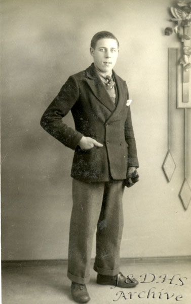 National Childrens Home, Newton.  Unknown Young man