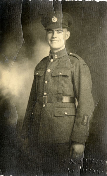 National Childrens Home, Newton.  Unknown Old boy  in Army Uniform