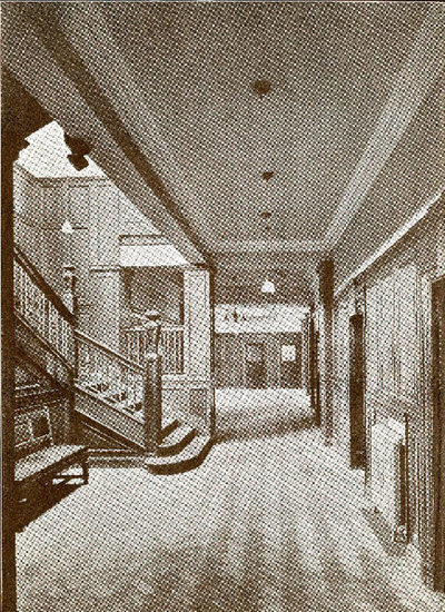 The Staircase Hall inside Mssrs William Gossage and Sons Soap Works.