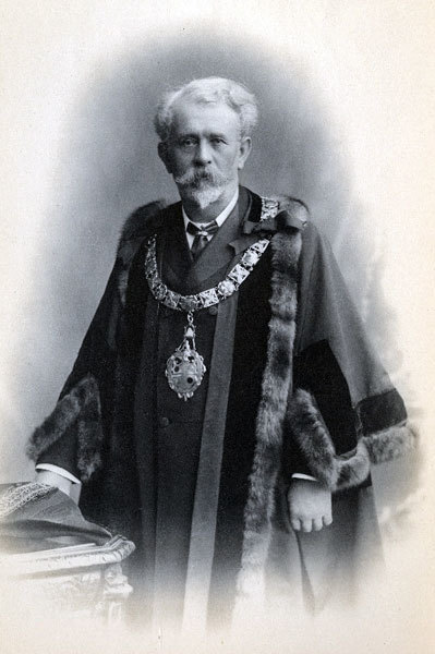Samuel Owens, Mayor of Widnes, 1906, 1907.