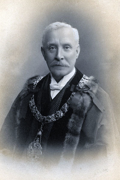 Frederick Neil, Mayor of Widnes, 1910, 1911, 1912.