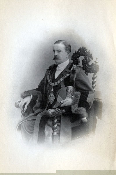 William Gossage, Mayor of Widnes, 1901, 1902.