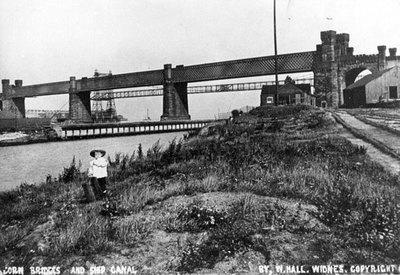 Ethelfleda Railway Bridge and Transporter Bridge