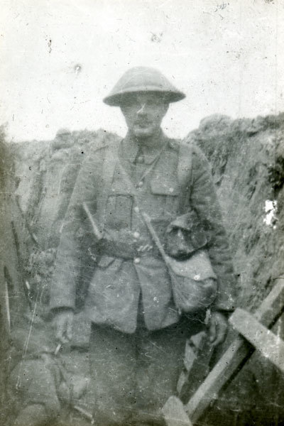 2nd Lieutenant Harvey in Montauban Alley
