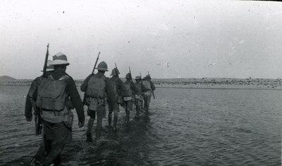 Crossing a sabkha in Mayar
