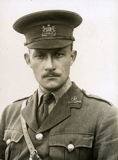 Hubert Knox, originally of the 2nd Battalion and later attached to the 16th Battalion