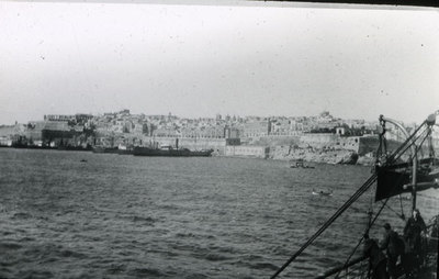 View of Valetta from the sea