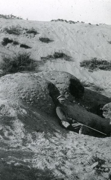 Bedouin ovens in Mayar