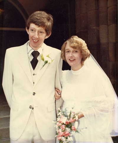 Wedding of Alan McEvoy and Lynda Houghton.