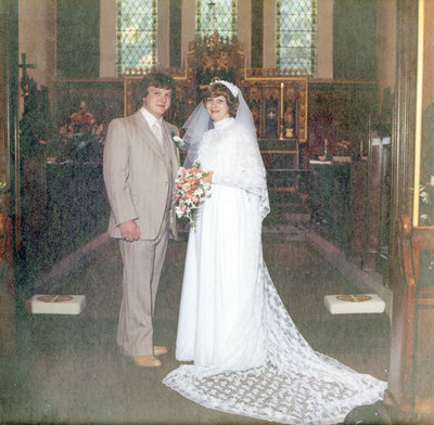 Wedding of Brenda Ibbotson to John Richardson at St George's Church