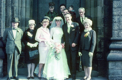 Wedding of Anita Potts and Gordon Mourne