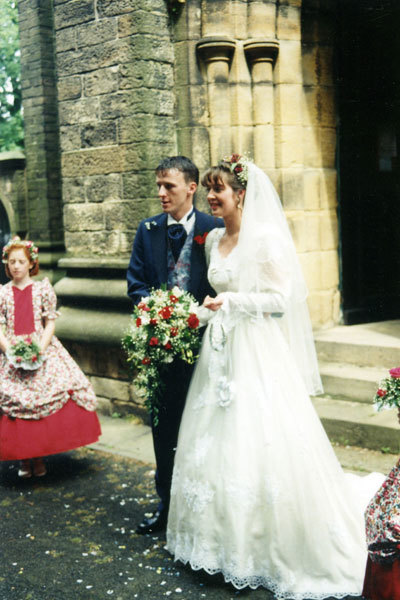 Wedding of Roy Hinchcliffe and Karen Gray