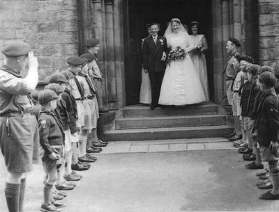 Wedding of Vera Wild and Arthur Thorpe