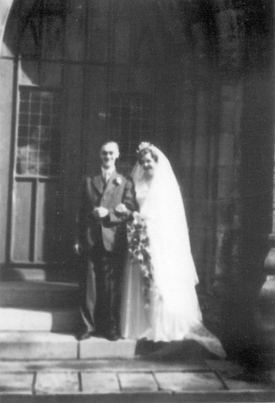 Wedding of June Bottomley and Joe Livesley