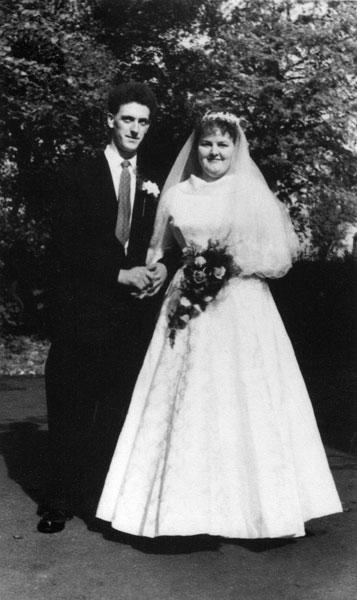 Wedding of Jean Waterhouse and Frank Edwards.