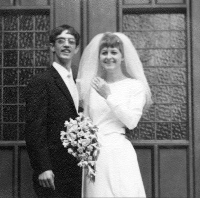 Wedding of Jackie White and David Waterhouse