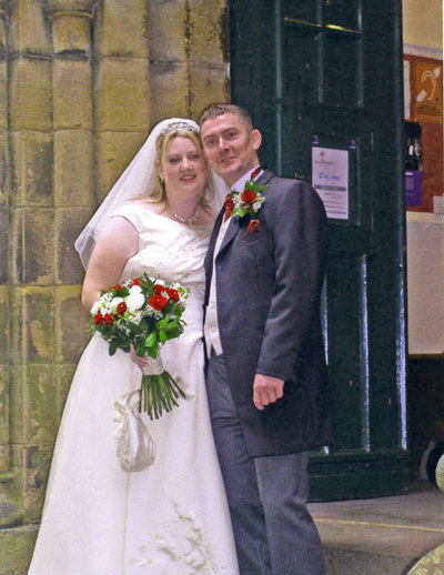 Wedding of Kerry Hinchcliffe and Wilfred Race
