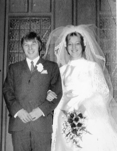 Wedding of Pauline German and Eric Crossland