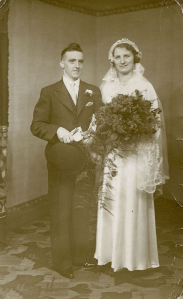 Wedding of Elsie Mills and James McNee