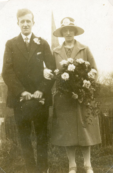 Wedding of Edith Barton and George Moss