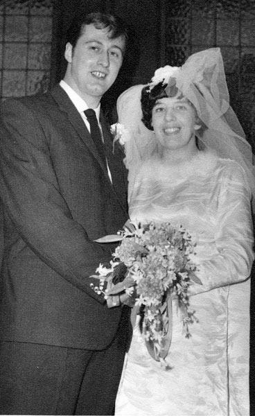 Wedding of Christine Pattison and Ronald Hill