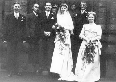 Wedding of Yvonne Jakeman and Victor Phillips