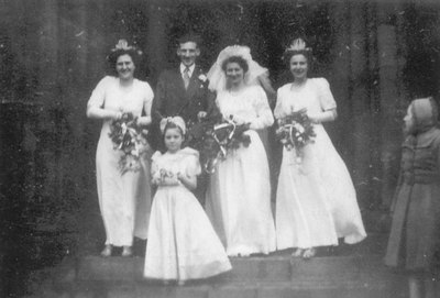 Wedding of Irene Richardson and Hugh Leggett