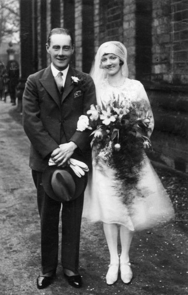 Wedding of Doris Heathcote and Fred Howard