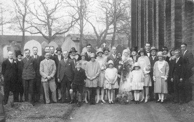 Wedding of Doris Heathcote and Fred Howard
