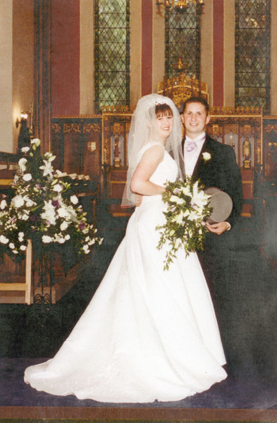 Wedding of Andrew Robinson and Lynne James