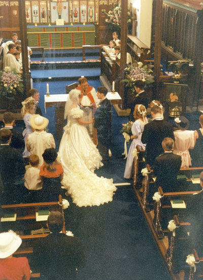 Wedding of Christopher Caldwell and Helen Robinson